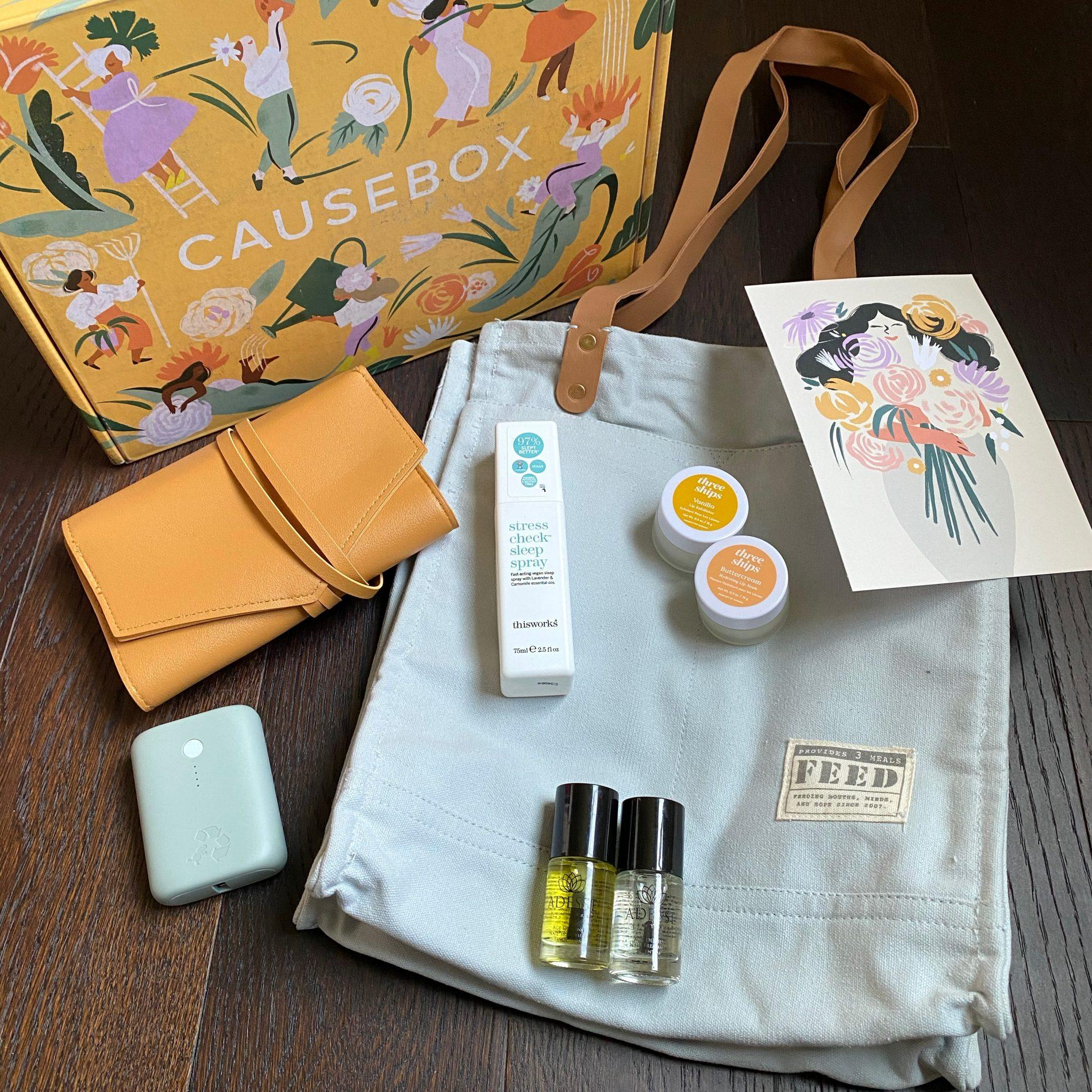 CAUSEBOX Review + Coupon Code – Spring 2021