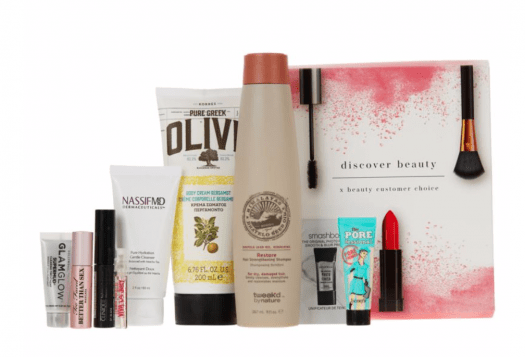 HSN Discover Beauty x Beauty Choice Nominees Sample Box - On Sale Now!