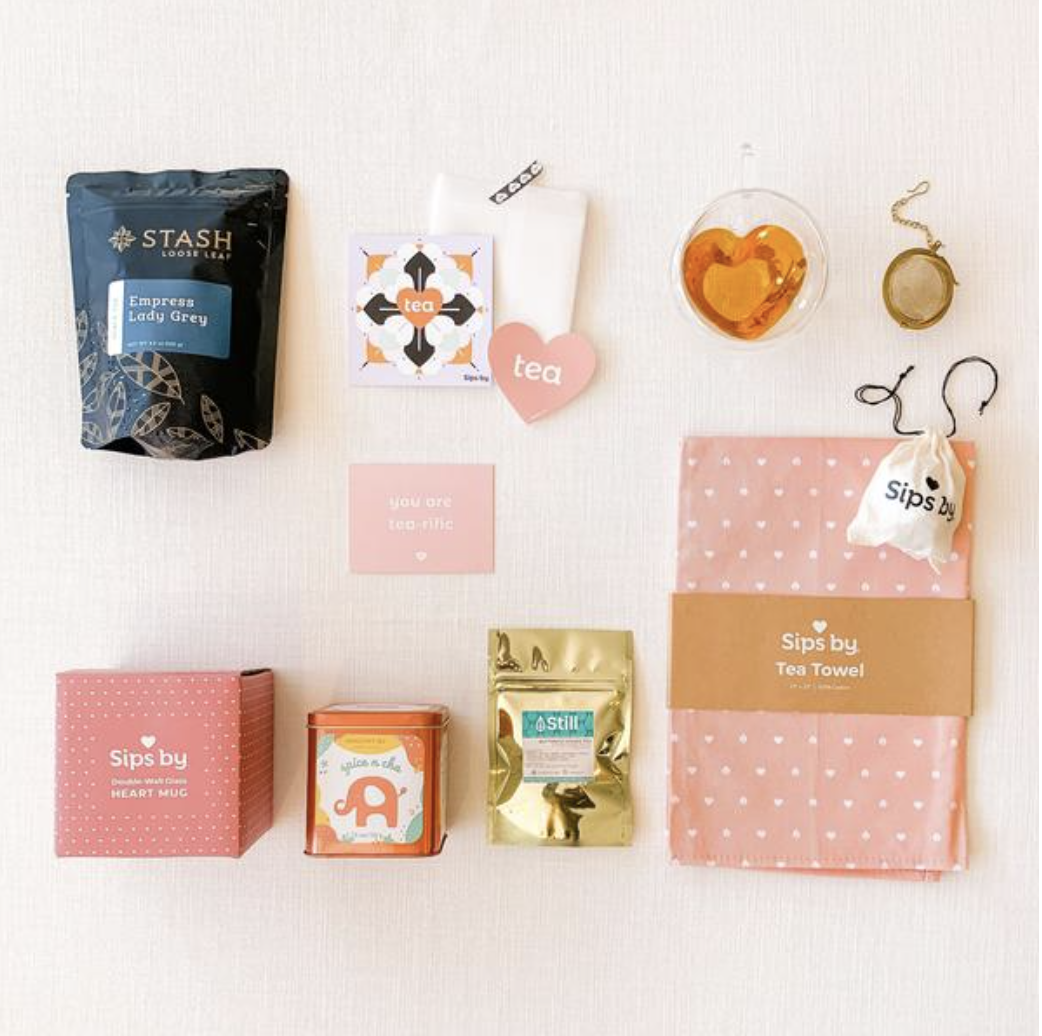 Sips by Mother's Day Tea Party Collection