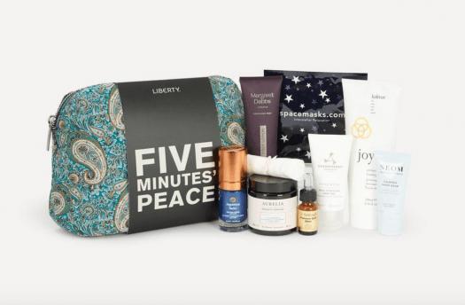 Liberty London Five Minutes' Peace Beauty Kit – On Sale Now!