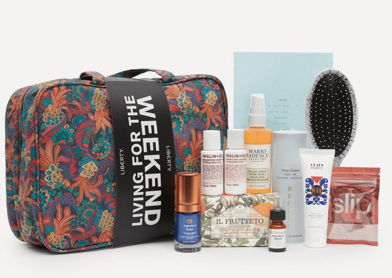 Liberty London Living for the Weekend Beauty Kit – On Sale Now!