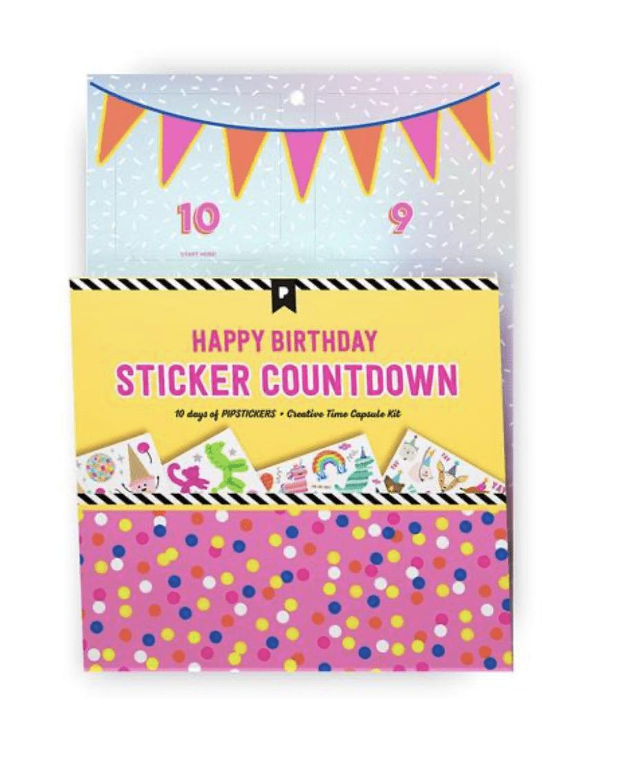 Pipsticks Birthday Countdown Wall Advent Countdown