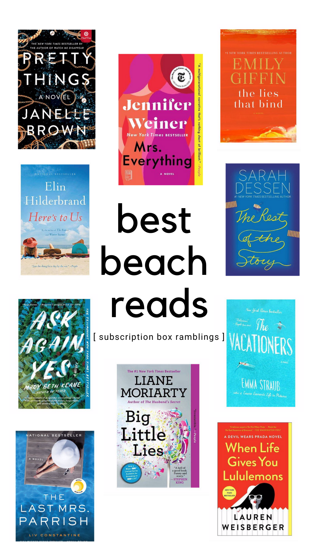 Best Beach Reads!
