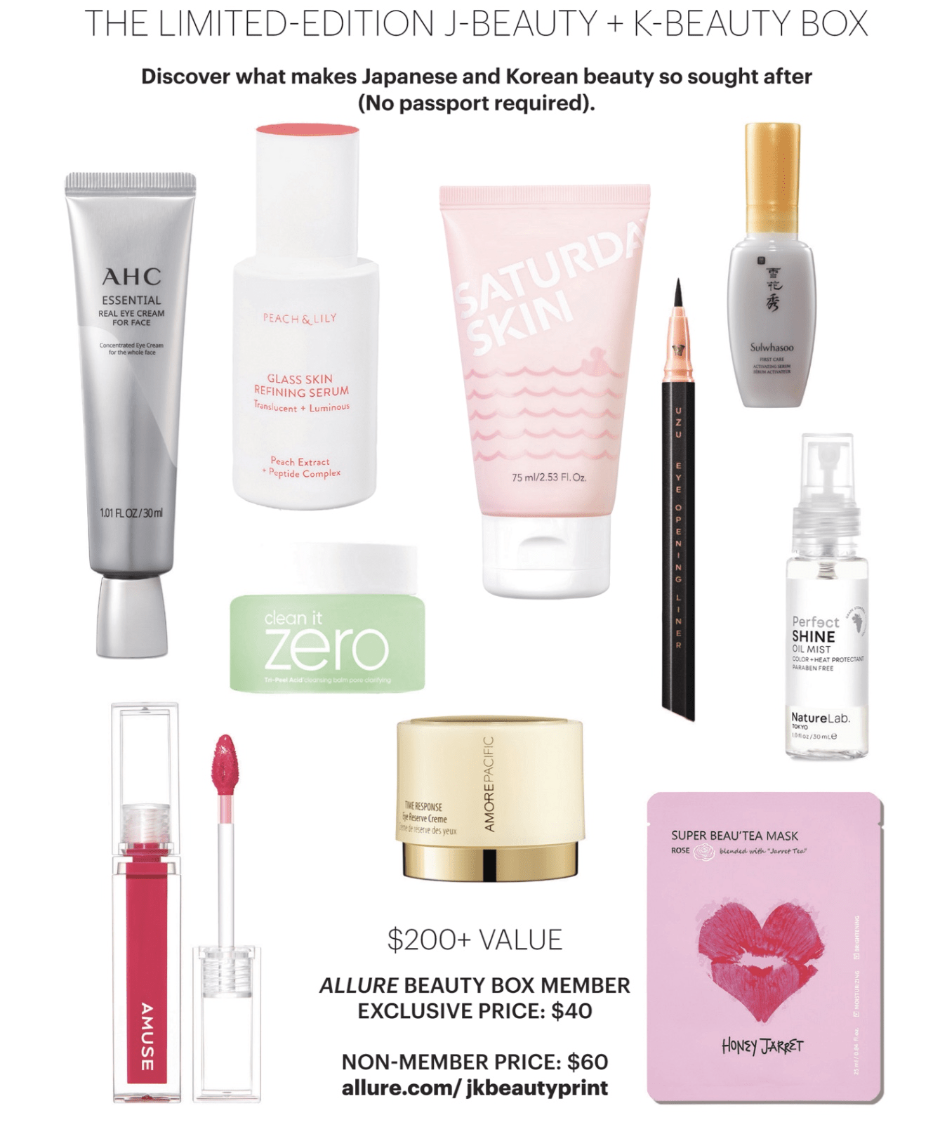 Allure Limited Edition J-Beauty + K-Beauty Box – Coming Soon!