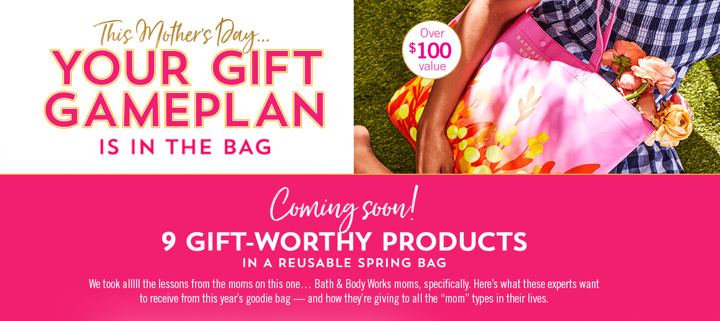 Bath & Body Works Mother's Day 2021 Tote – Coming Soon!