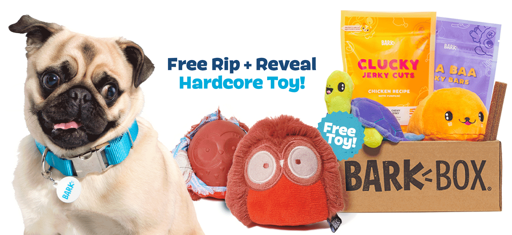 BarkBox Coupon Code – Free Olga the Owl Rip & Reveal Toy!