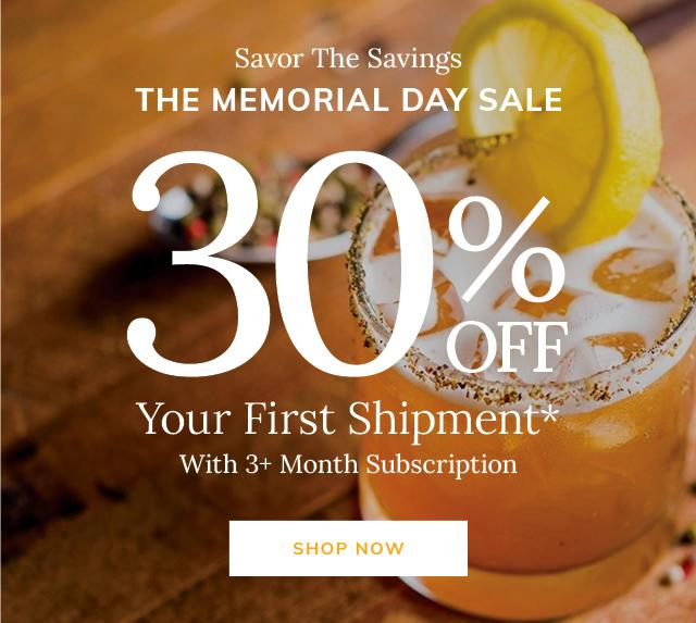 Cratejoy Memorial Day Sale – Save 30% off Your First Month of Select Boxes
