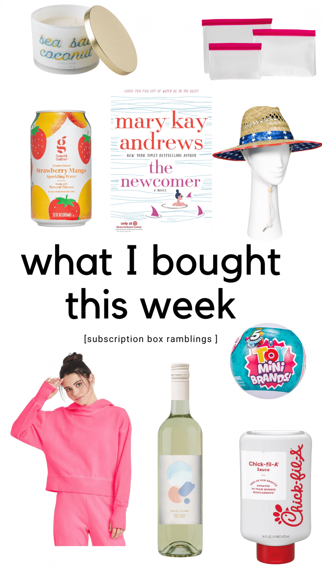What I Bought This Week (Target Edition)!