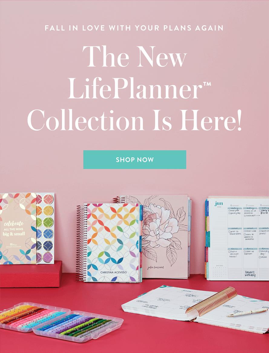 Erin Condren 2021 / 2022 Life Planners – On Sale Now!