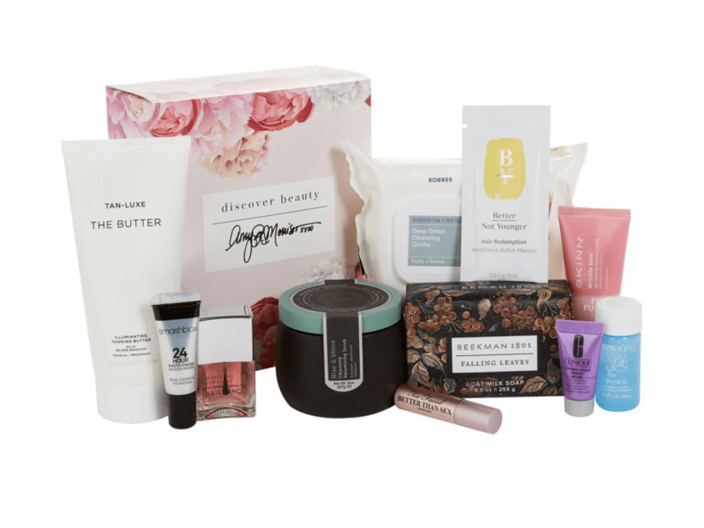 HSN Discover Beauty x Amy Luxe Sample Box – On Sale Now!