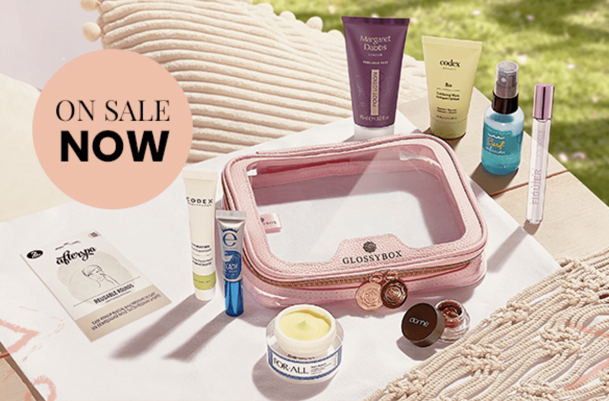 GLOSSYBOX Limited Edition Summer Essentials Bag – Save 10%