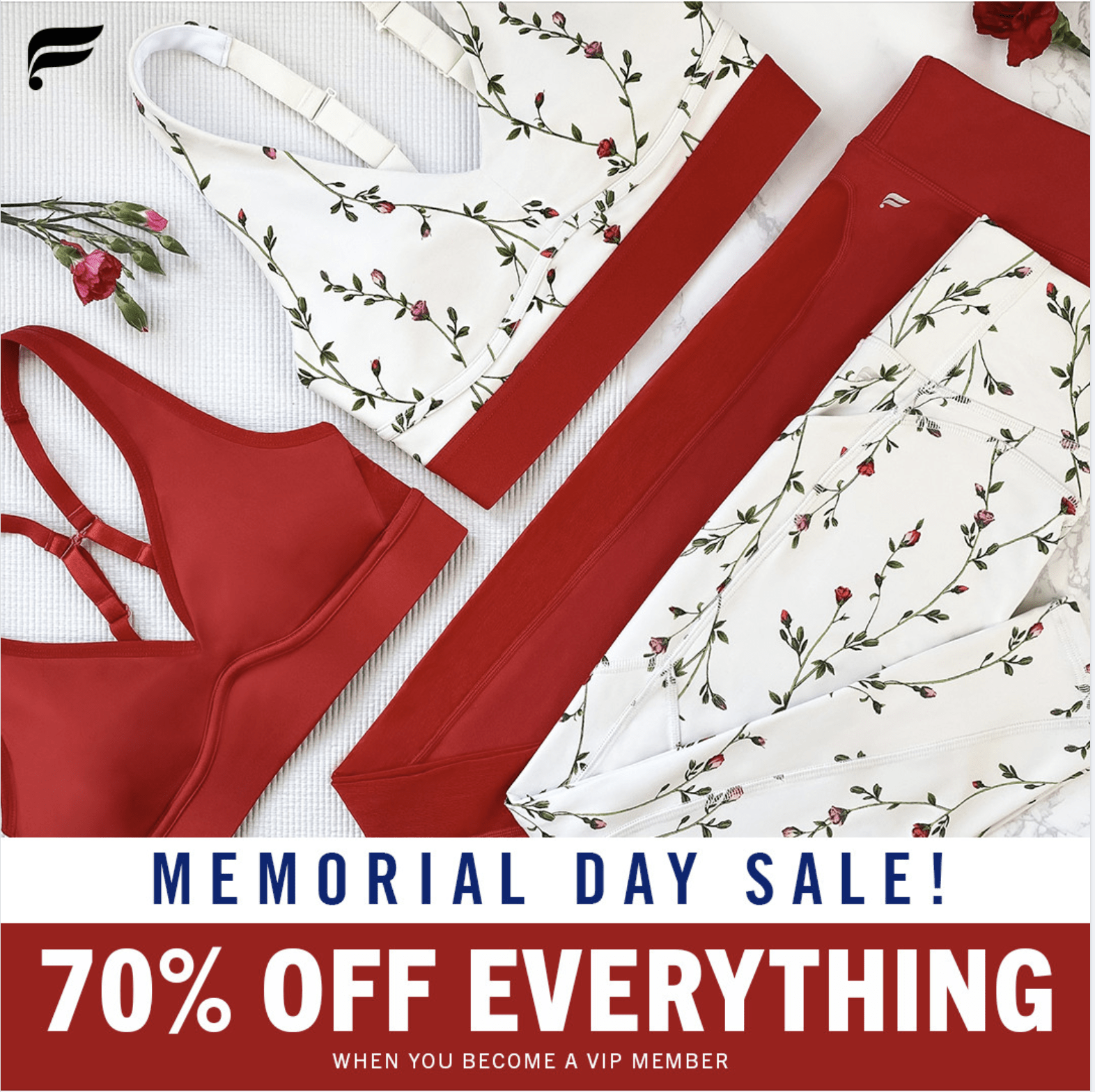Fabletics Memorial Day Sale – 70% off Everything