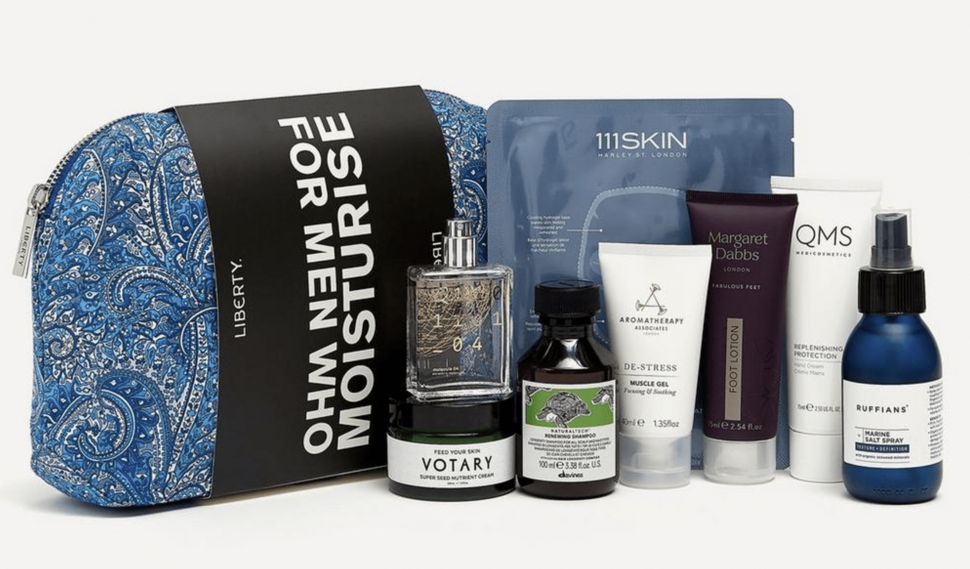 Liberty London For Men Who Moisturise Kit – On Sale Now!