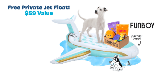 BarkBox Coupon Code – Free FUNBOY Pool Float!