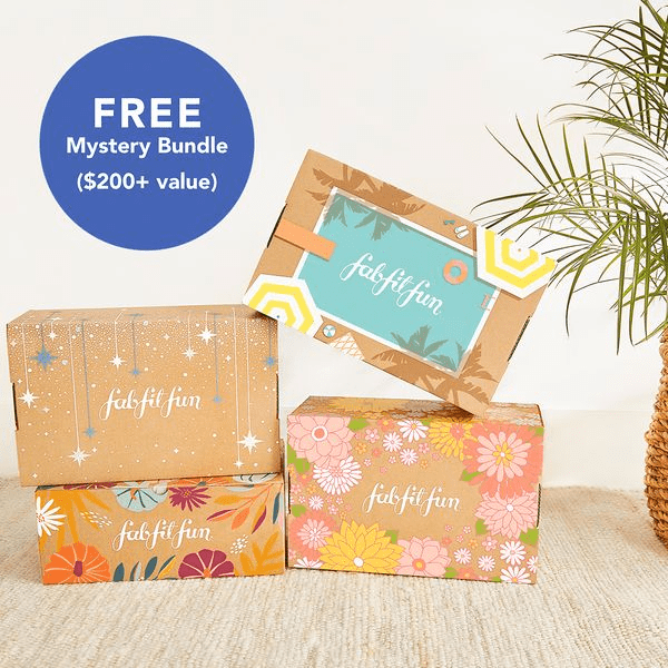 FabFitFun Sale – Free Mystery Bundle with Annual Subscription!