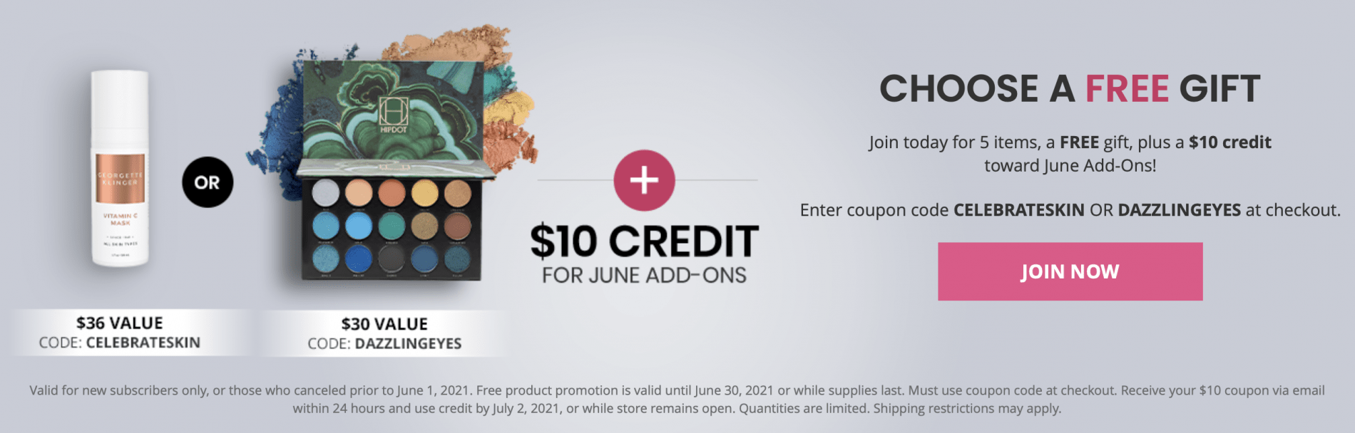BOXYCHARM July 2021 Coupon Code – Free Gift with Purchase + $10 Pop-Up Credit!