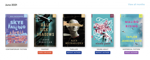 Book of the Month June 2021 Reveal + Selection Time + Coupon Code