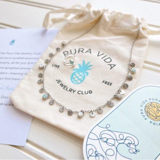 June 2021 Pura Vida Jewelry Club