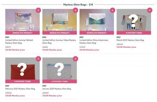 Ipsy June 2021 Mystery Bags - On Sale Now!