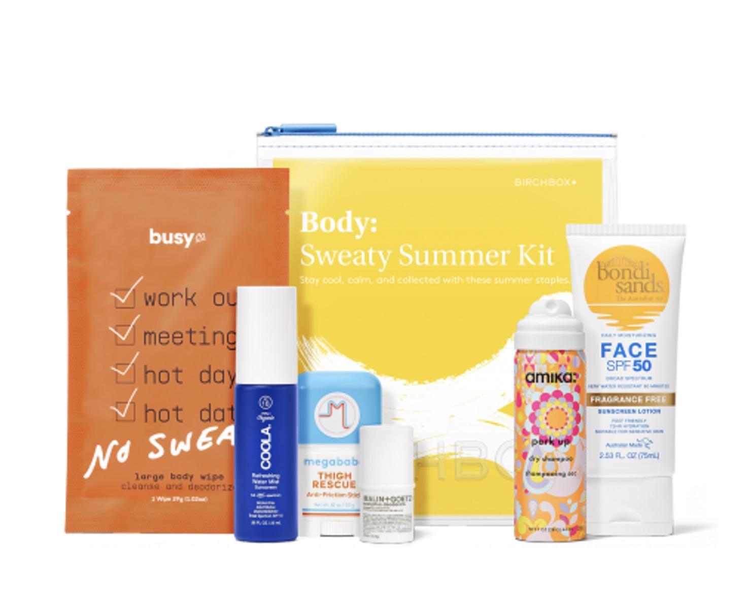 Birchbox The Sweaty Summer Kit – On Sale Now