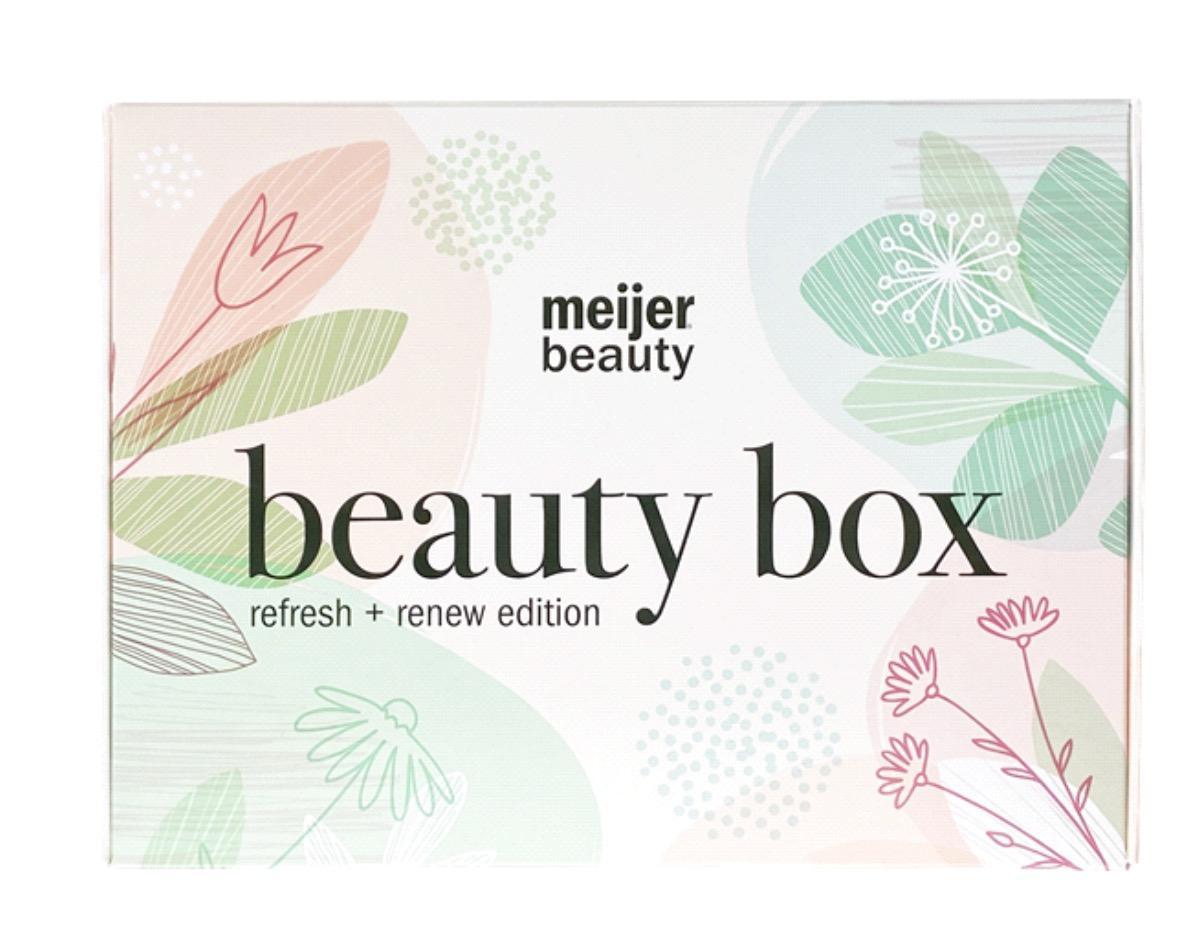 Meijer May Beauty Box Refresh + Renew Edition