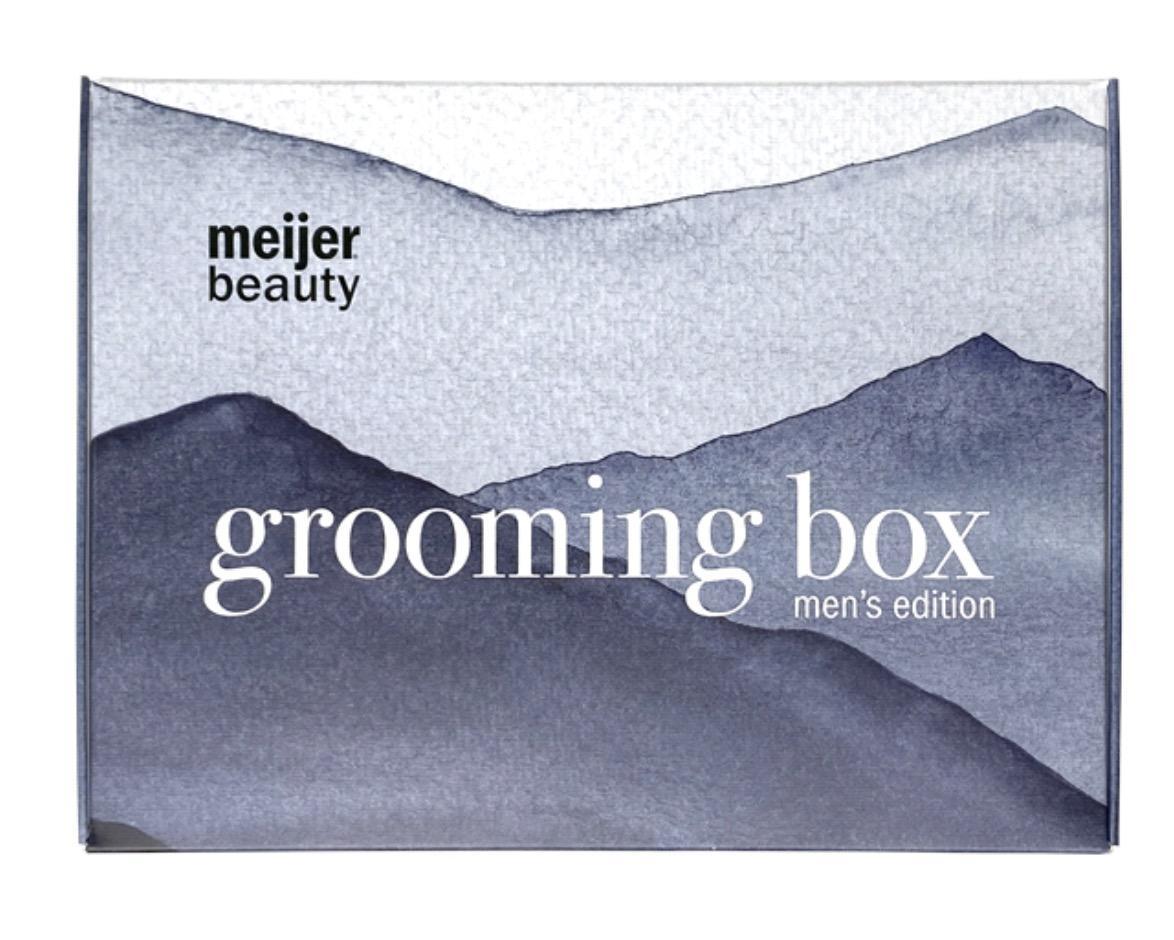 Meijer Beauty Box – Men's Care