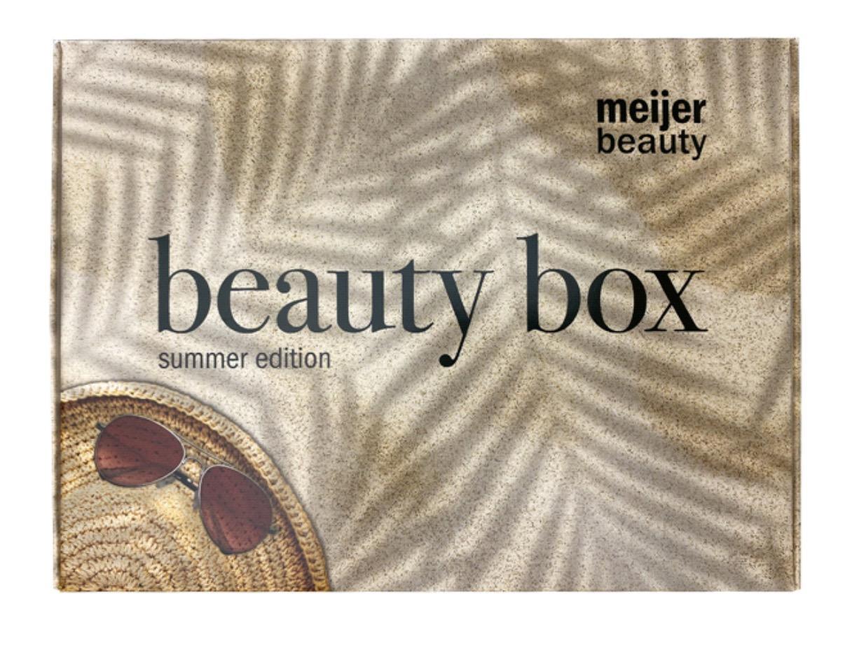 Meijer July Beauty Box