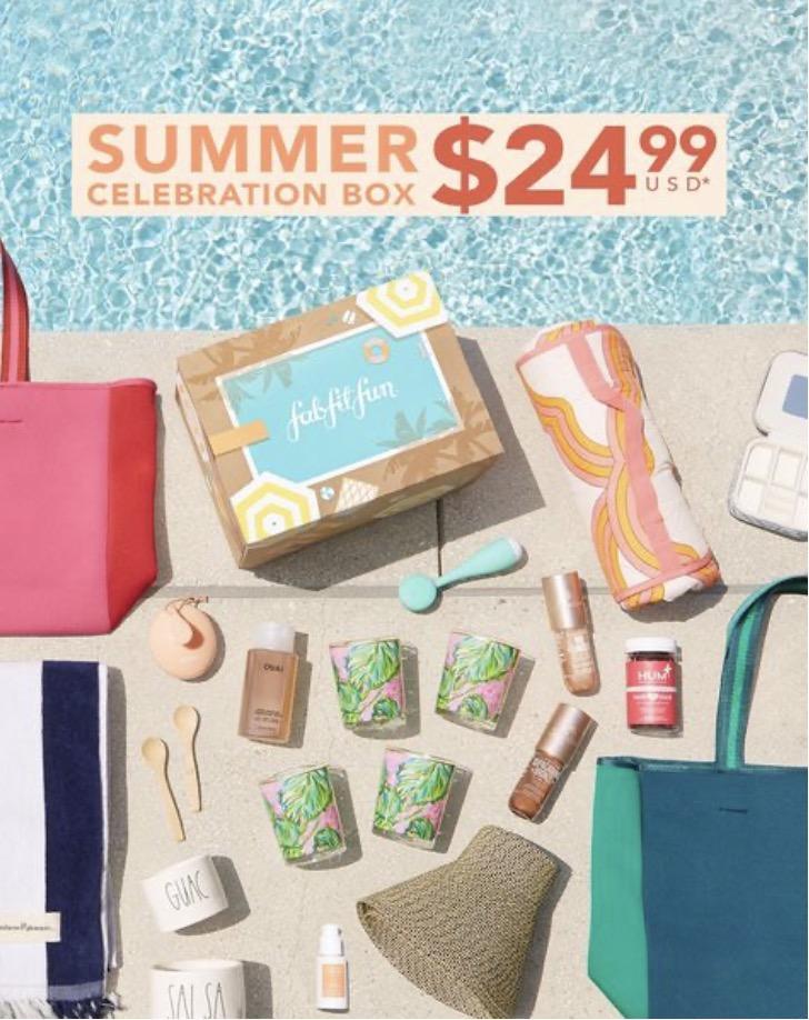 FabFitFun 4th of July Sale – $25 Off the Summer Box!