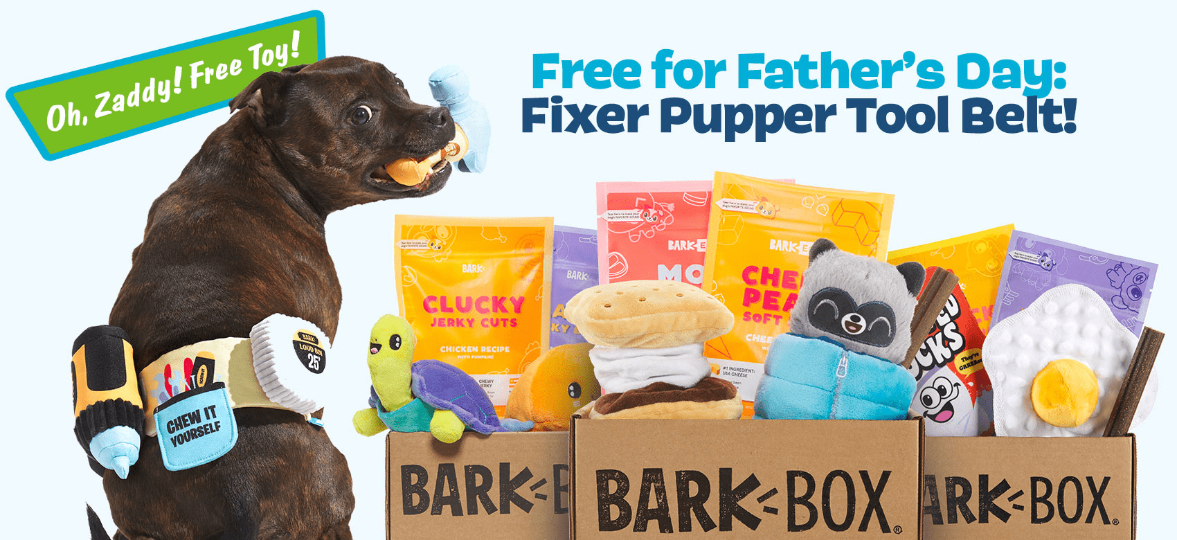 BarkBox Coupon Code – FREE Fixer Pupper Tool Belt Wearable!