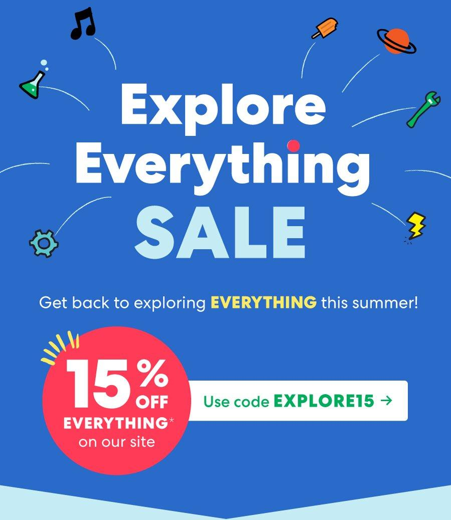 KiwiCo 4th of July Sale – 15% off Subscriptions