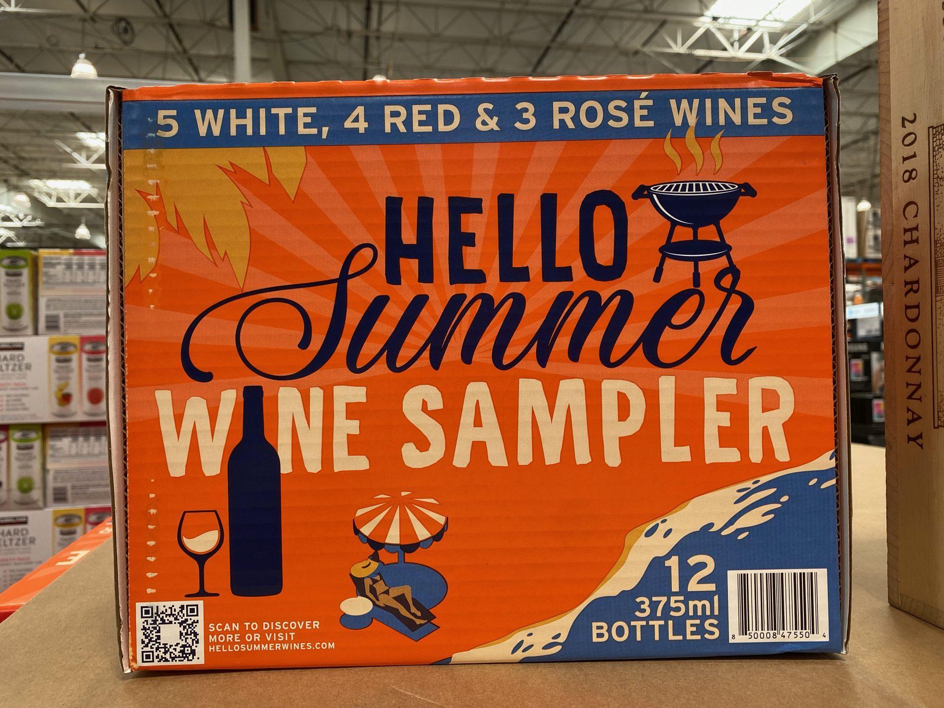 Costco 2021 Hello Summer Wine Sampler
