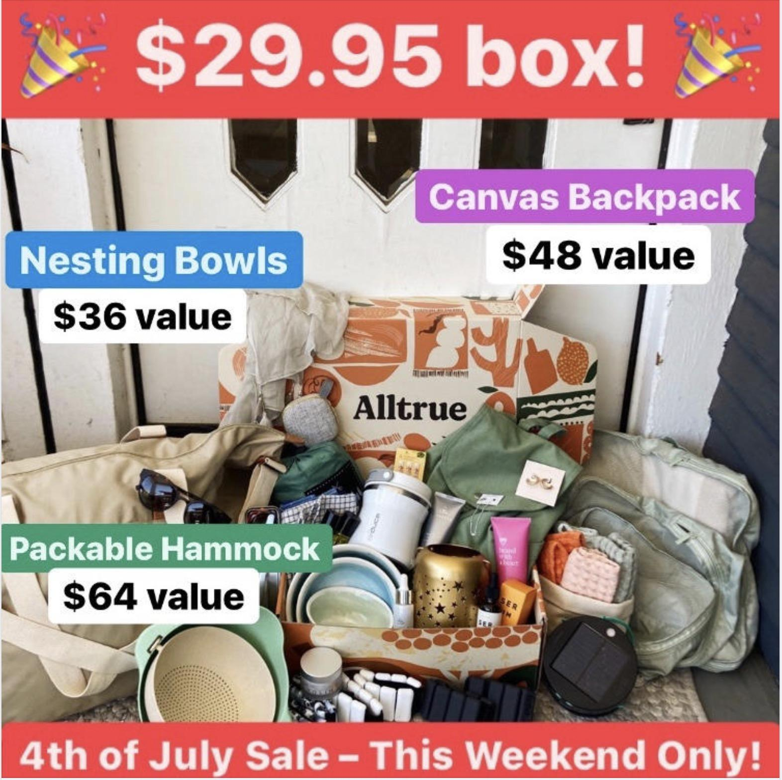 Alltrue (formerly CAUSEBOX) 4th of July Sale – Save $25!