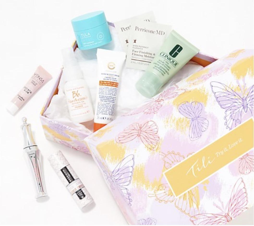 QVC TILI Try It, Love It 8-Piece Beauty Buyer's Pick Sample Box – On Sale Now