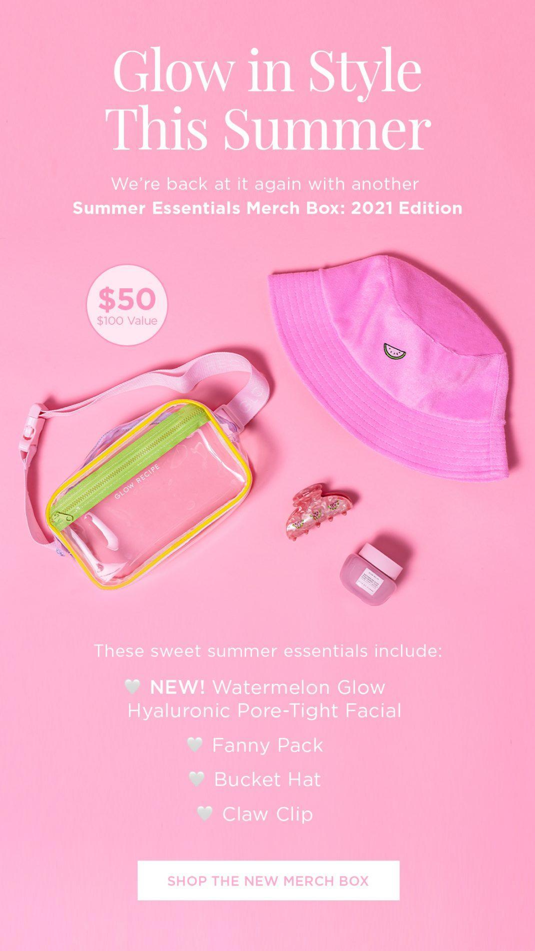 Glow Recipe Summer Essentials Merch Box: 2021 Edition