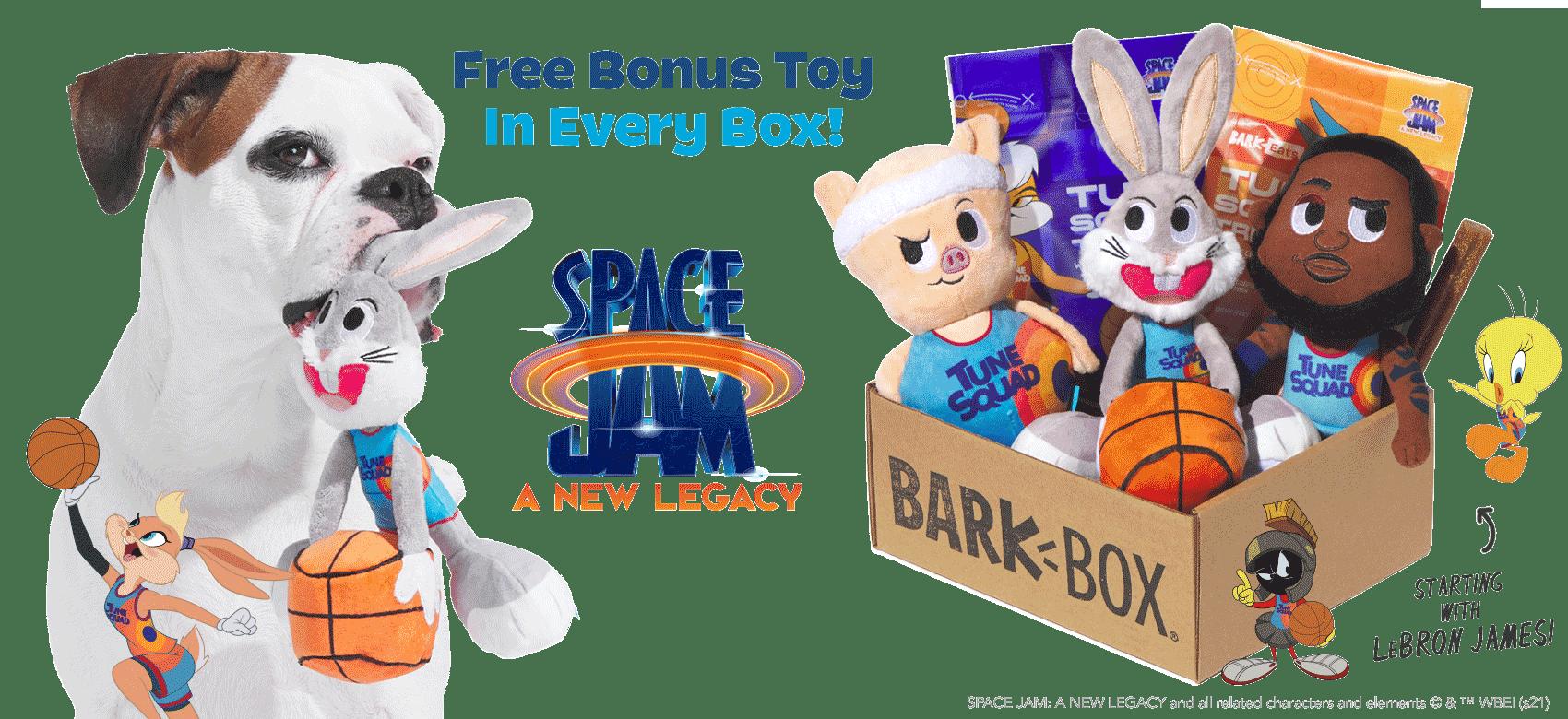 BarkBox Coupon Code: Free Bonus Toy in Every Box!