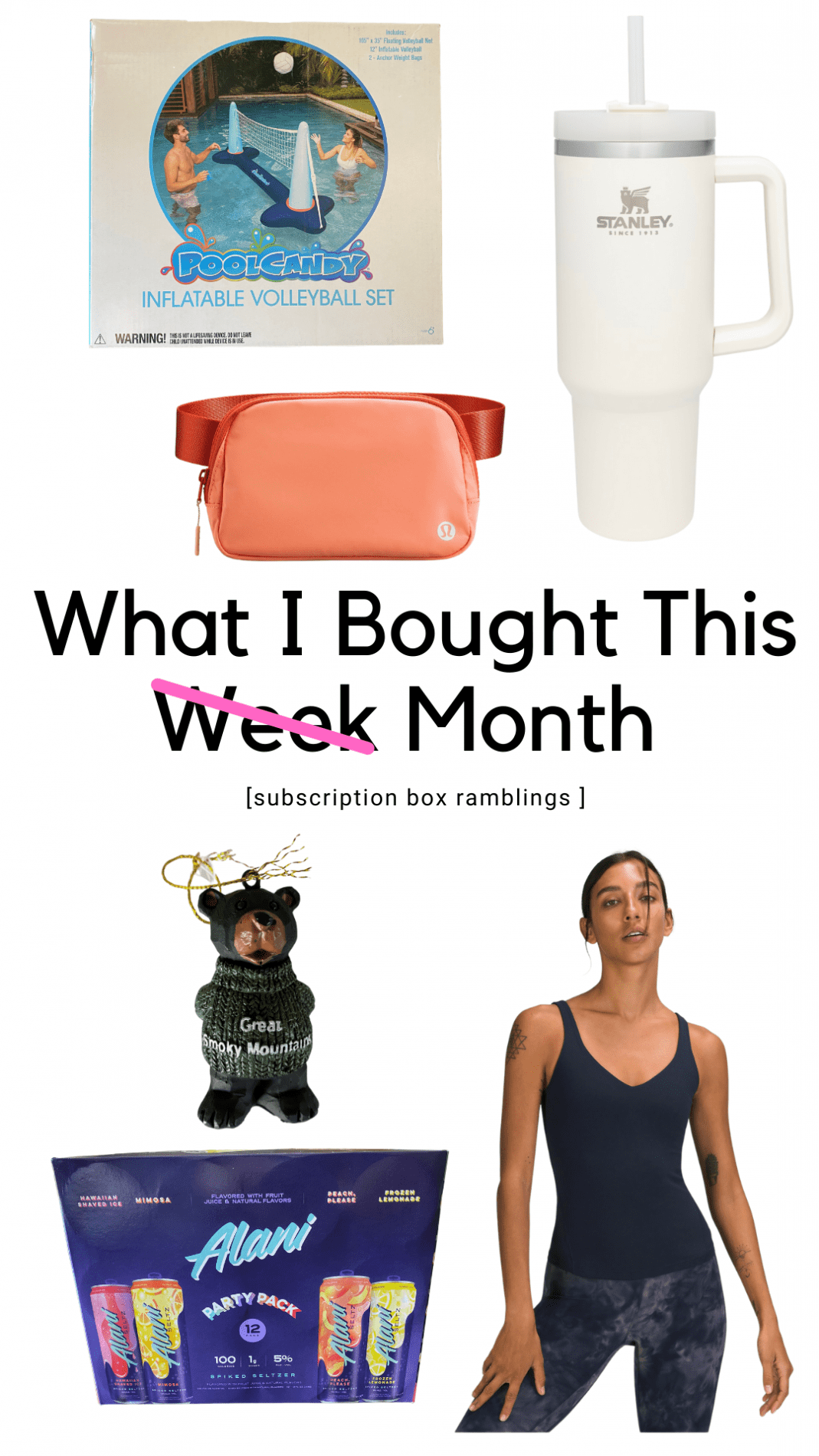 What I Bought This Week!