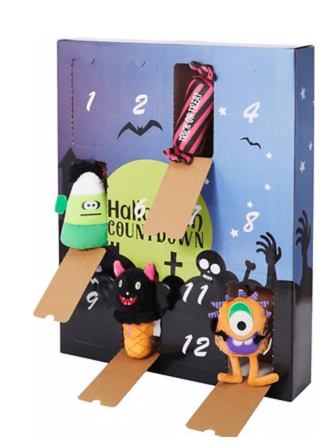 Frisco Halloween 13 Day Advent Calendar with Toys for Dogs