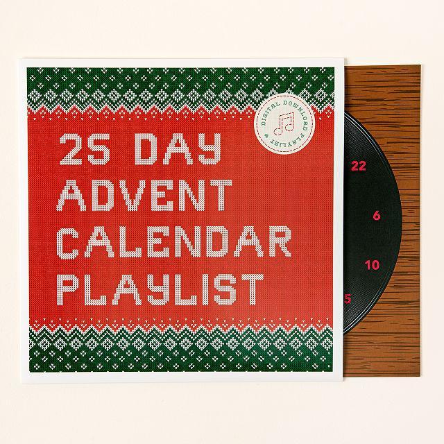 Holiday Scratch Off Advent Calendar Playlist