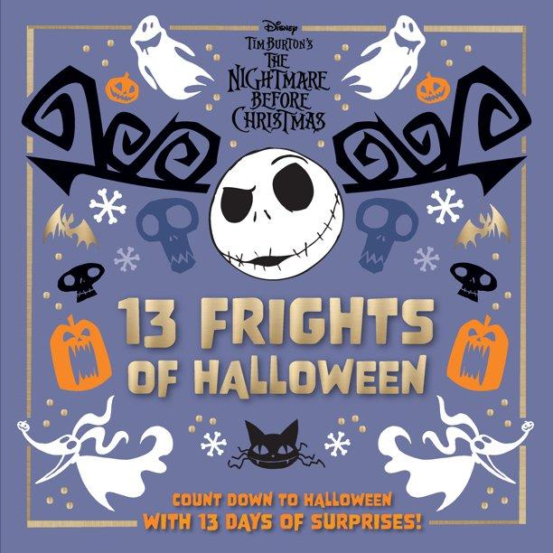 The Nightmare Before Christmas 13 Frights of Halloween Collectible Surprise Calendar