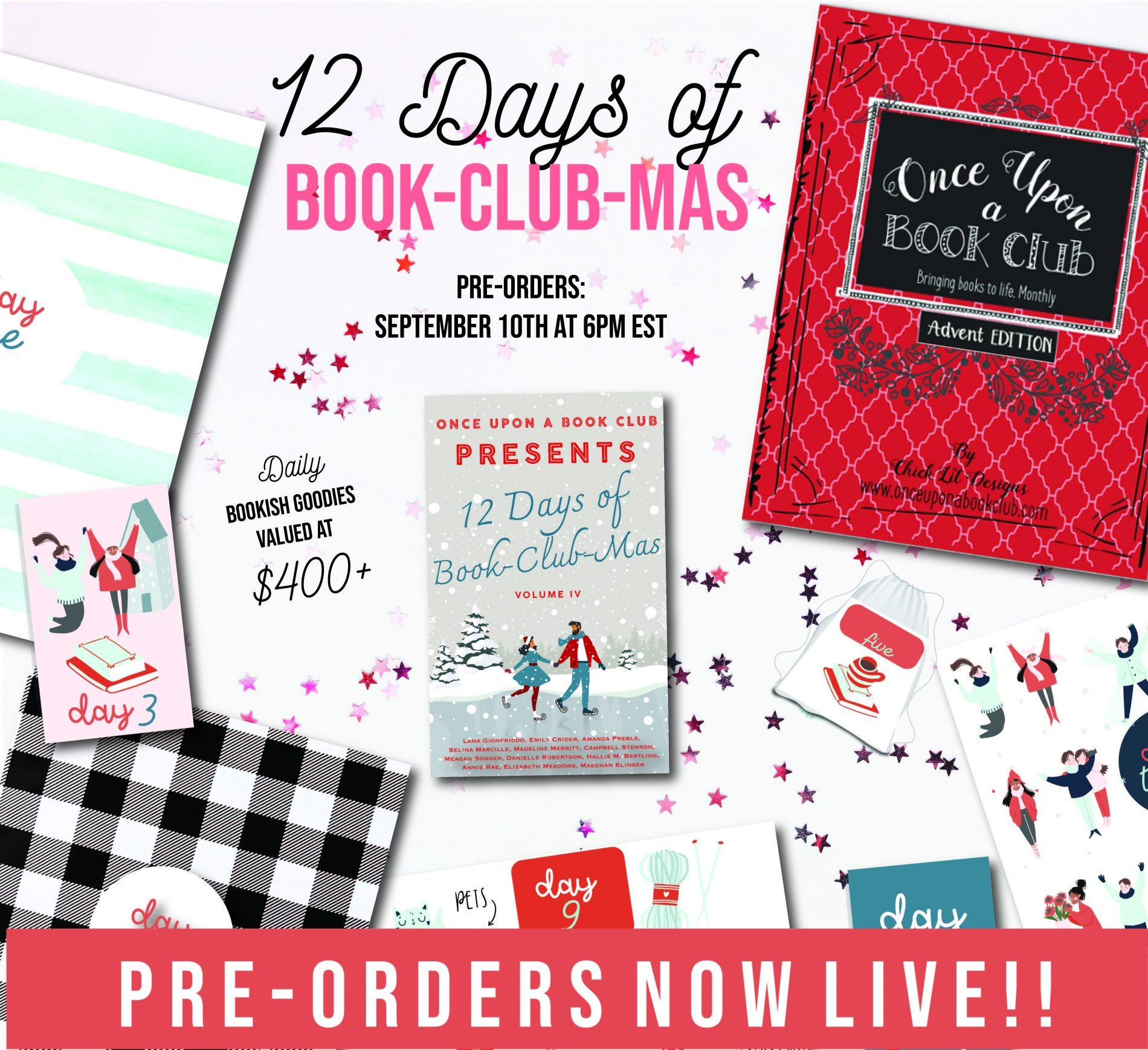 Once Upon A Book Club Bookish Advent Calendar 2021 – On Sale Now