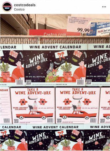 Costco 2021 Wine Advent Calendar – On Sale Now!