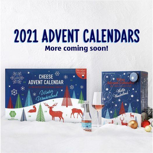 Aldi 2021 Wine & Cheese Advent Calendars – On Sale 11/3