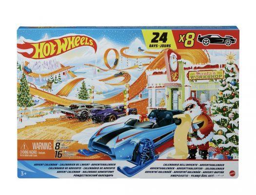 Hot Wheels Advent Calendar – Now Available