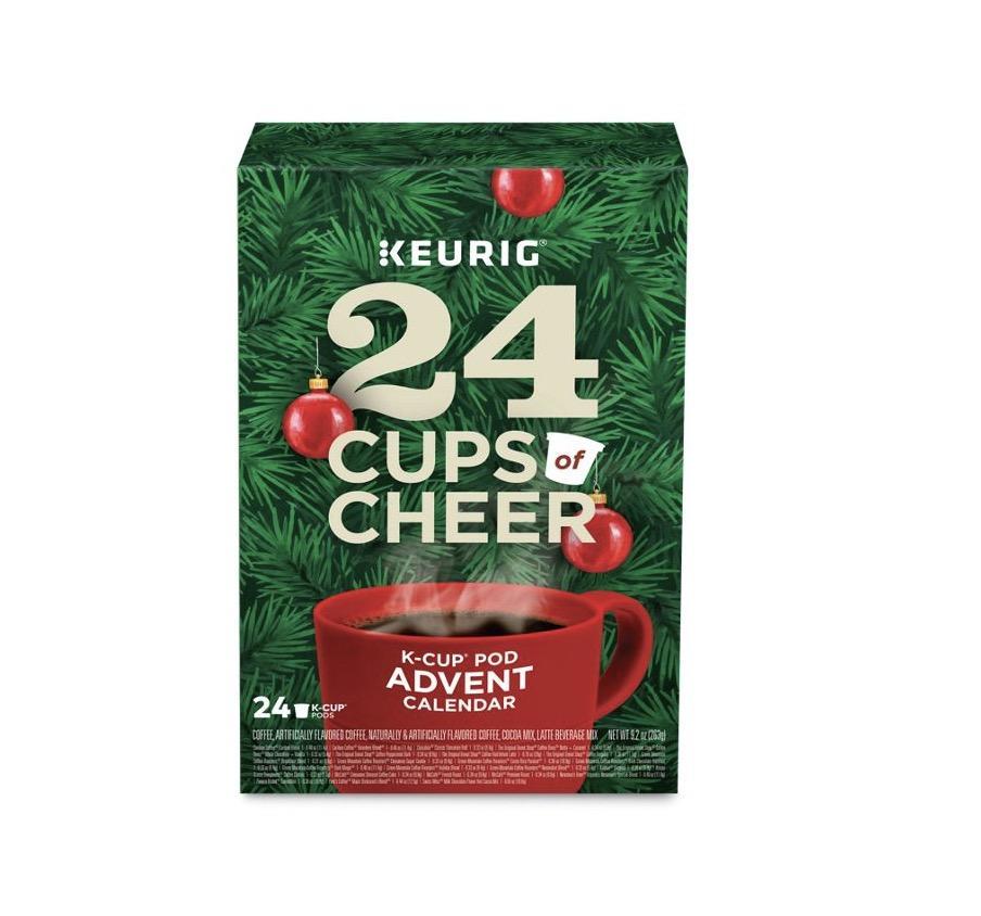 Keurig Advent Calendar Variety Pack- On Sale Now