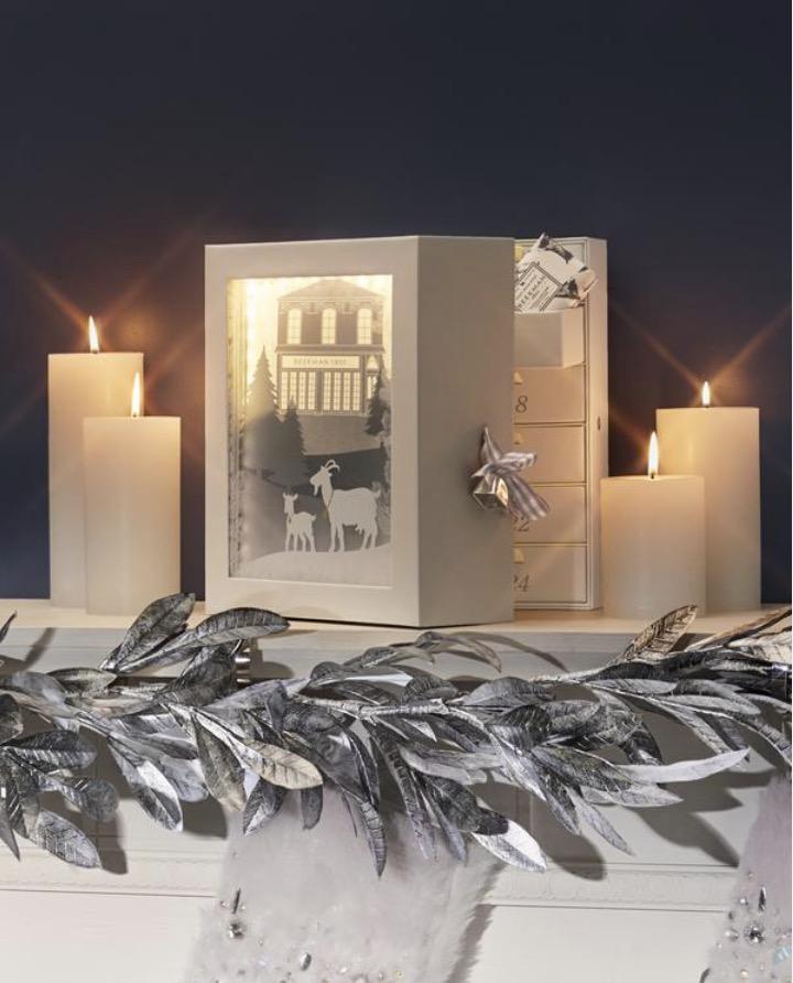 2021 Limited Edition Beekman 1802 All Aglow Shadowbox Advent Calendar