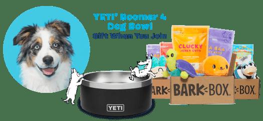 BarkBox Coupon Code: FREE Yeti Dog Bowl