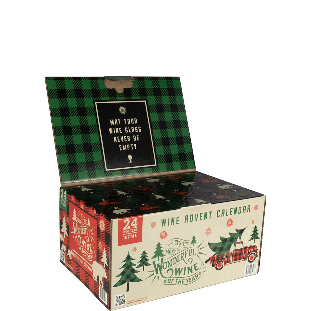 Total Wine It's The Most Wonderful Wine Of The Year Wine Advent Calendar