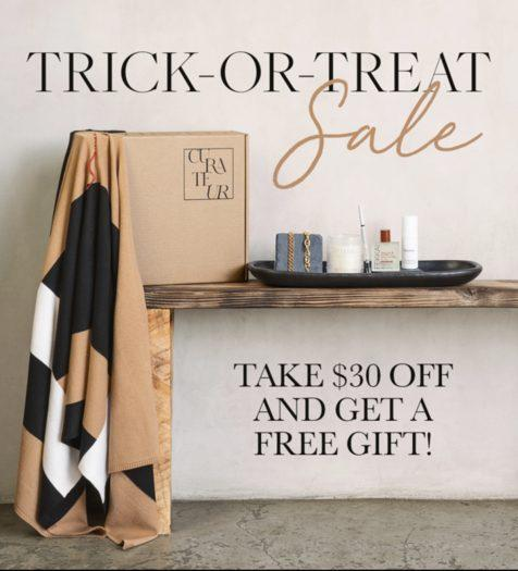 CURATEUR Fall 2021 Coupon Code - Save $30 + Free Mystery Gift