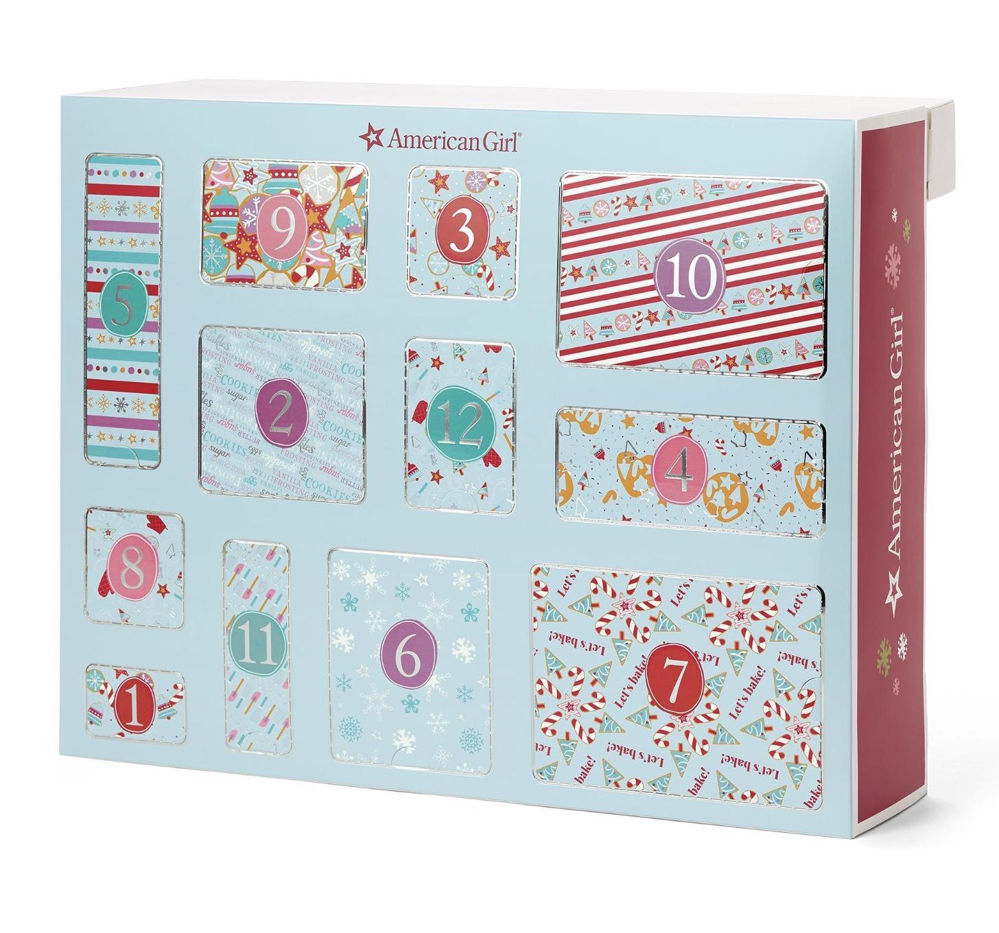 American Girl A Dozen Delicious Days Countdown Set Advent Calendar