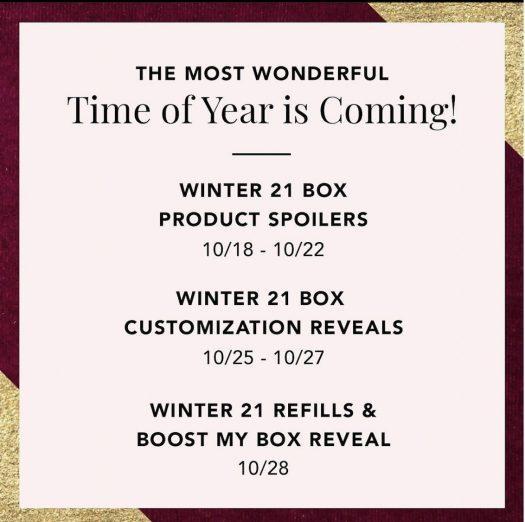 FabFitFun Winter 2021 Box